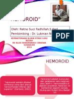 hemoroidretno