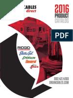 2016 Draincables Direct Catalog