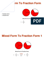 Mixed to Fraction