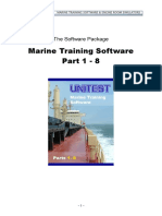 Marine Training Software