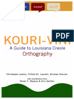 Guide to Louisiana Creole Orthography