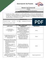 Descriptor Asesor de Ventas Consumo Al 30.11.15