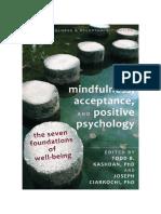 Mindfulness Acceptance