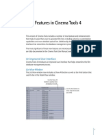 Cinema Tools 4 New Features