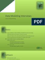 Data Modeling Interviews
