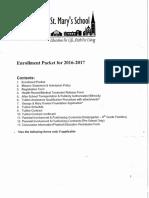 2016-17 Registration Packet