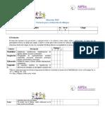 Ficha de Evaluación Dibujos