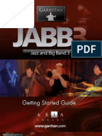 Garritan Jazz & Big Band 3 Getting Started Guide
