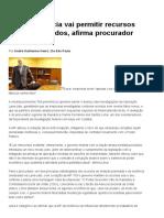 MP Da Leniência Vai Permitir Recursos Ilícitos a Partidos, Afirma Procurador _ Valor Econômico