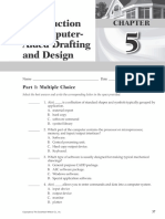 intro to cadd - worksheets