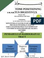 pemeriksaan Radiologi Traktus Digestivus Pptx