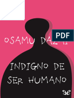 Indigno de Ser Humano - Osamu Dazai