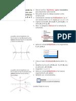 Graficando La Hipérbola Con Focos y Vértices en Los Ejes X e Y