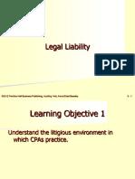 Audit Legal Liabilities