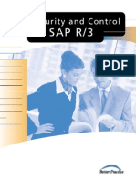 Security and control for SAP R3