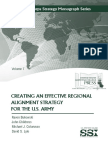 Creating an Effective Regional Alignment Strategy for the U.S. Army