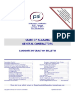 Candidate Info Bulletin