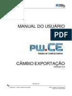 Pw.ce - Manual Do Usuário_Câmbio Exportação 9.0_06 [PT]