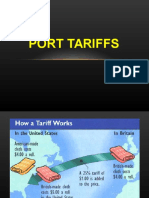 Lecture 5 - Port Tariff.ppt