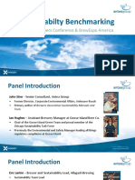 CBC2015 - Sustainability Benchmarking - Antea Group