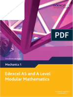 Edexcel M1 Textbook