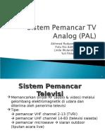 Sistem Pemancar TV Analog