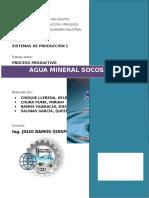 Agua Mineral Socosani