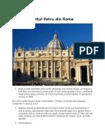 Bazilica Sfântul Petru Din Roma