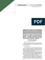 Manual de Evaluación del EIA D - Sector Minería - SENACE
