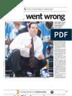 Newsday, April 4, 2010 - Steve Lavin feature