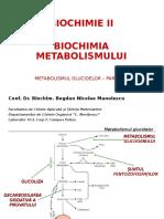 Biochimie 7 - Metabolismul Glucidelor I (Glicoliza, Decarboxilarea, Ciclul Krebs) CATB (an III)