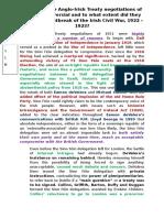 History Essay Sample