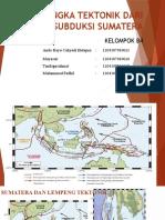 b4 Kerangka Tektonik Dari Zona Subduksi Sumatera