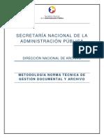 Metodología Norma Técnica de Gestión Documental y Archivo (1)