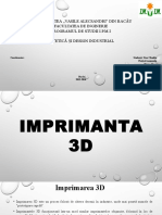 Prototipare rapida(imprimanta 3d)