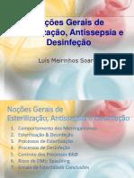 eSTNoções Gerais de Esterilização, Antissepsia e DesinfeçãoERI_dESINF_aNTISEP