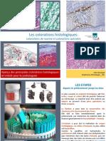 Les Colorations Histologiques