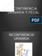 Incontinencia Urinaria y Fecal