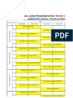 Jadwal Ujian Ganjil 2015.2016