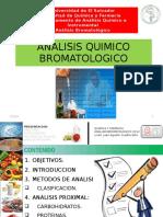 ANALISIS QUIMICO BROMATOLOGICO
