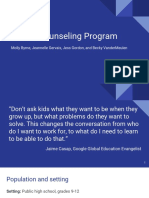 career counseling program ppt