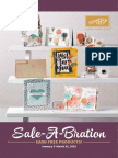 Stampin' Up! Sale-A-Bration 2016