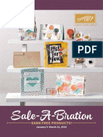 Stampin' Up! Sale-A-Bration 2016