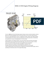 DW10BTED4 (RHR) 2.0 HDi Engine Wiring Diagram