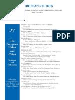 Wiessala, Wilson & Taneja - The European Union and China Interests and Dilemmas
