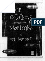 Four Rotations for Marimba