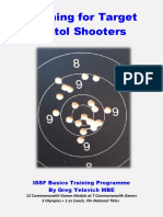 Training for Target Pistol Shooters