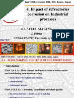 4.1Steelmaking-ImpactofrefractoriesonindustrialprocessJP.ppt