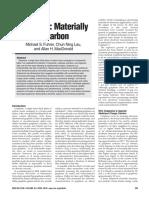 Graphene Materially Better Carbon