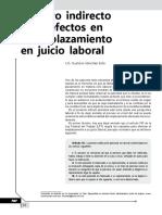 Amparo Indirecto Por Defectos en El Emplazamiento en Juicio Laboral